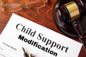 child support modification muskogee